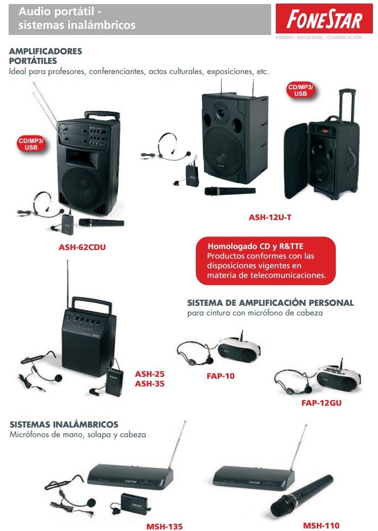 amplificadores voz