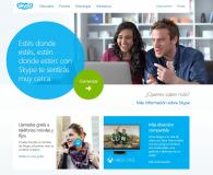 Soluciones de Voz IP, videoconferencia en smartTV entre otras via Skype.