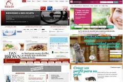 Algunos ejemplos de las llamadas Redes Sociales Verticales (Especializadas) donde nos puede interesar estar presentes.