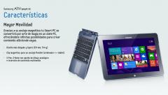 Soluciones móviles y fijas: Tablet / Portátil.