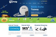 Internet vía Satélite para zonas rurales.