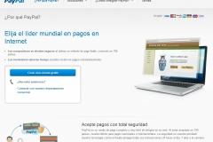PayPal el sistema más conocido para aceptar pagos con tarjeta de crédito en tu web, blog, tienda...