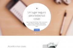 Google Drive, propuesta de google para almacenar en la nube tus archivos y compartirlos.