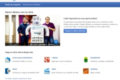 Recibe ingresos de Google permitiendo su publicidad en tu web, blog o tienda. Google Addsense.