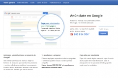Publicidad SEM (De pago): Google Adwords.
