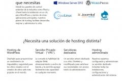 Hostings (alojamientos) para dar visibilidad a tu web en Internet.
