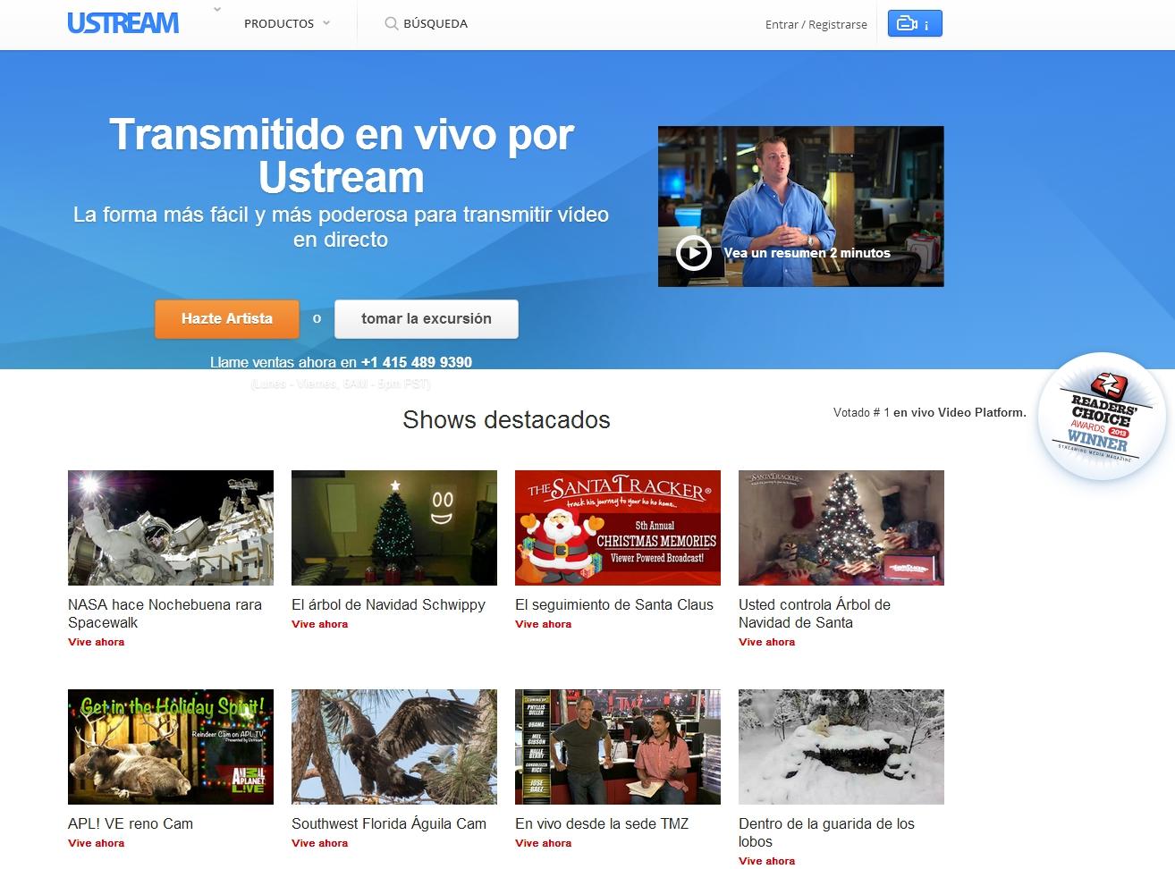 Transmisión de vídeo desde cualquier lugar: Eventos, presentaciones...