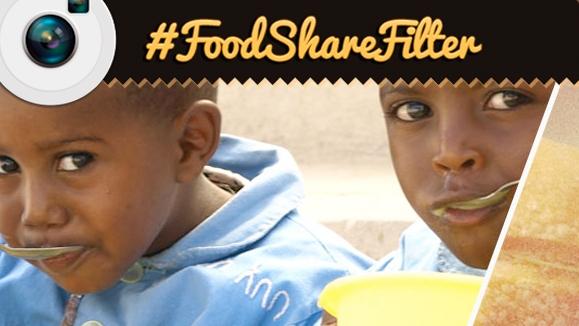 FoodShareFilter Filtro Solidario De Instagram Para Compartir Tu Comida Vía ManosUnidas.org