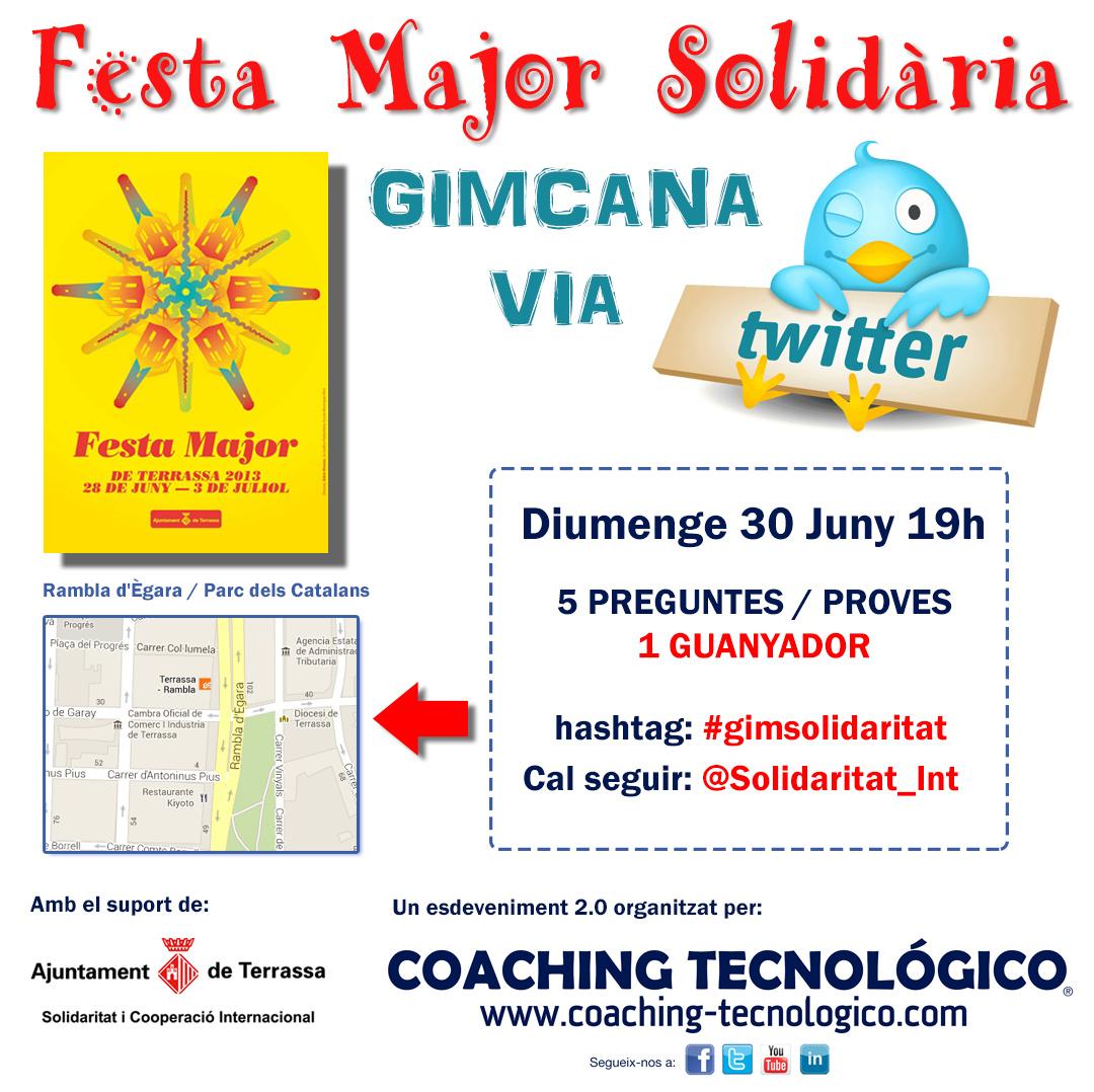Gimcana Solidaria Festa Major Terrassa 2013