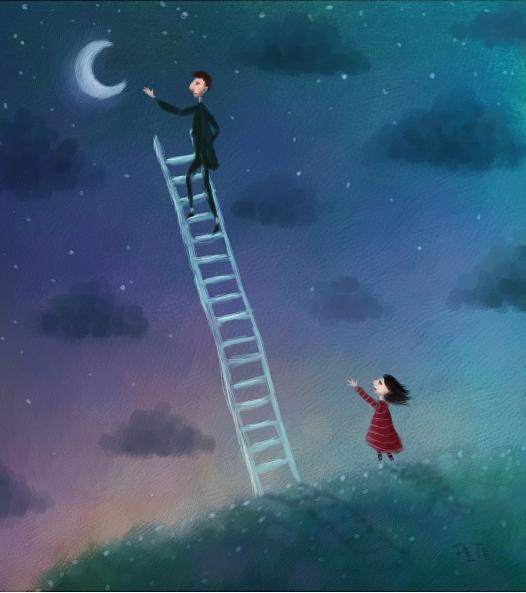 Es justamente la posibilidad de realizar un sueño lo que hace que la vida sea interesante