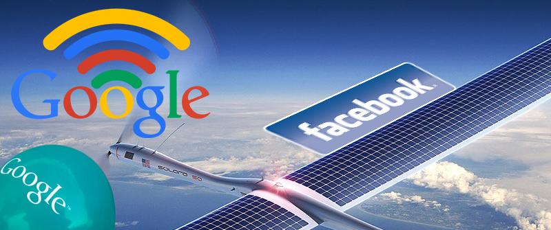Google Con Globos Y Facebook Con Drones Ofrecerán Internet Gratis Para Todos