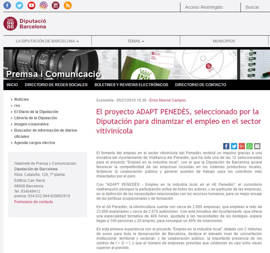 nota_prensa_diputacio_barcelona_projecte_ADAPT_www.coaching-tecnologico