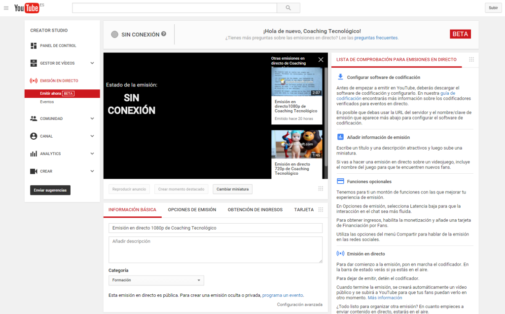 youtube_streaming_www.coaching-tecnologico